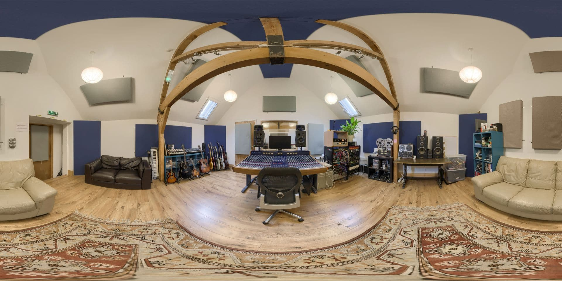 Brighton Road Recording Studios - 360 Virtual Tour